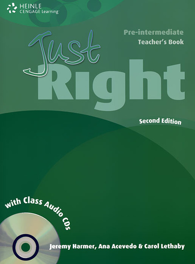 Just Right: Pre-intermediate: Teacher's Book (+ 2 CD)
