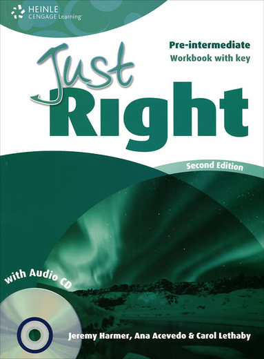 Just Right: Pre-Intermediate: Workbook with Key (+ CD)