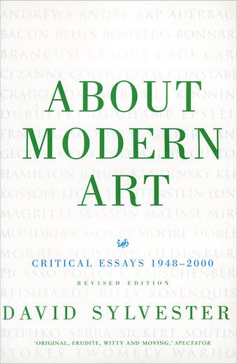 about modern art critical essays