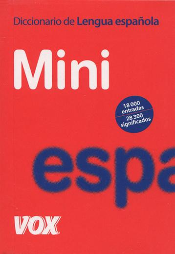 Diccionario Mini de la Lengua Espanola