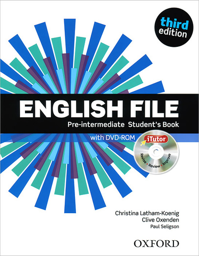 English File: Pre-intermediate: Student's Book (+ DVD-ROM)