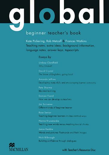 Global Beginner: Teacher's Book (+ CD-ROM)