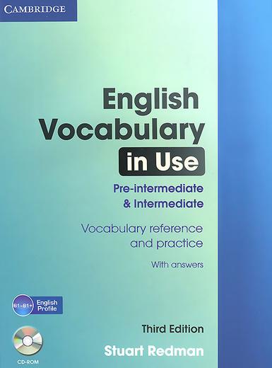 English Vocabulary in Use: Pre-intermediate and Intermediate (+ CD-ROM)