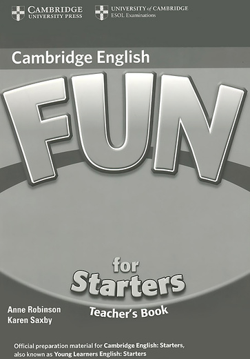 Fun for Starters: Teacher's Book