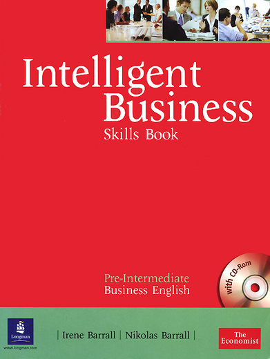 Intelligent Business: Pre-Intermediate: Skills Book (+ CD-ROM)