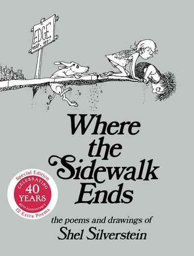 Where the Sidewalk Ends: Poems and Drawings Уцененный товар (№1)