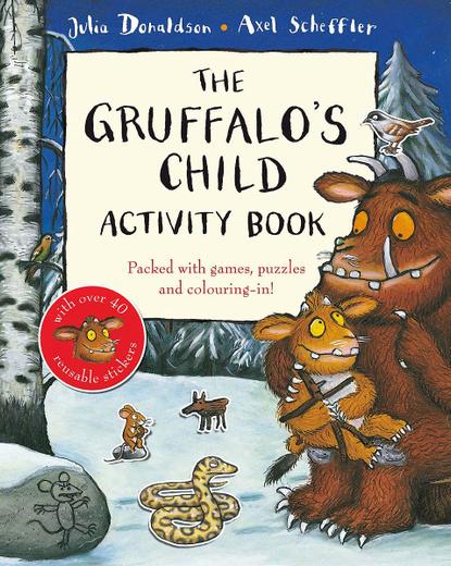 The Gruffalo's Child Activity Book (+ 40 наклеек)