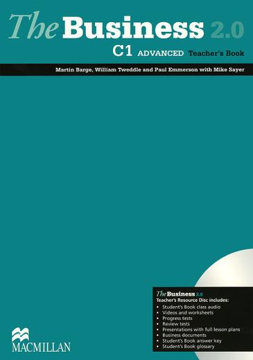 The Business 2.0: C1 Advanced: Teacher's Book (+ DVD-ROM)