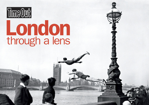 London Through a Lens Postcard book