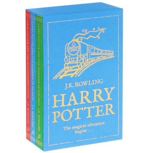 Harry Potter: The Magical Adventure Begins (комплект из 3 книг)