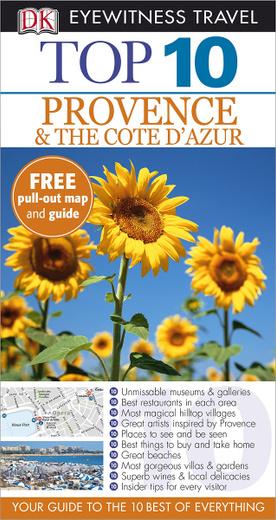 Provence & the Cote d'Azur: Top 10 (+ карта)