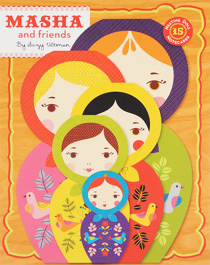 Masha and Friends: Notecards