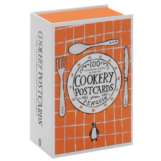 Cookery Postcards: 100 Cookbook Covers in One Box
