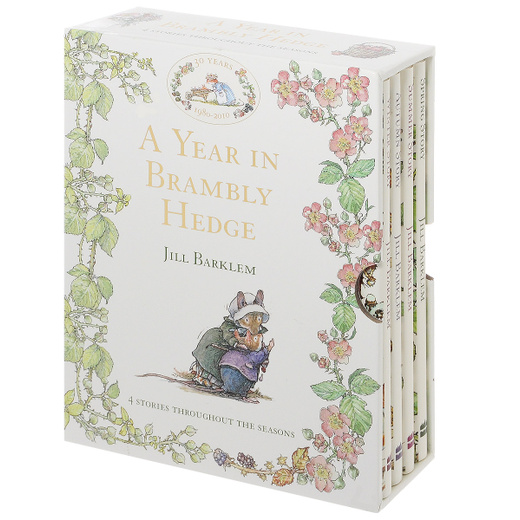 A Year in Brambly Hedge (4 Stories)