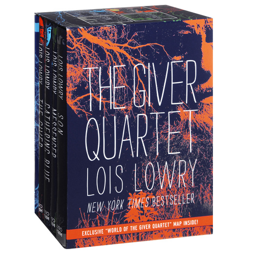 The Giver Quartet (Set of 4 Books)