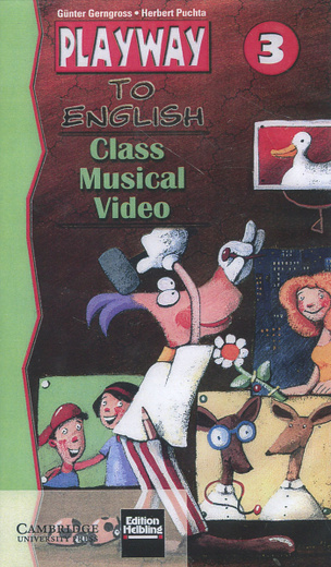 Playway to English 3: Class Musical Video (видеокурс на VHS)