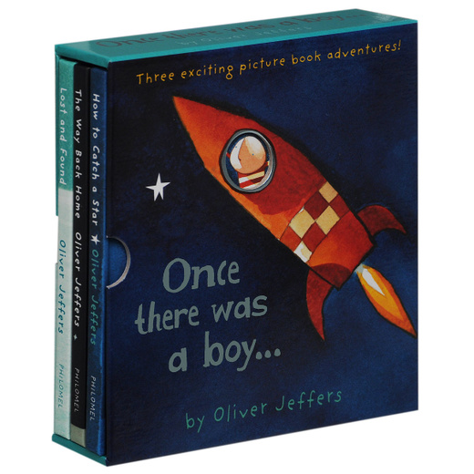 Once There Was a Boy... (комплект из 3 книг)