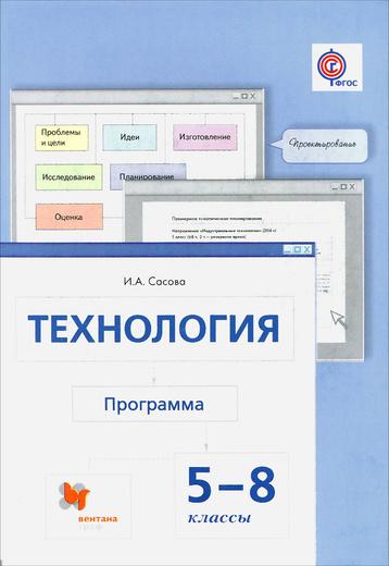 Технология. 5-8 классы. Программа (+ CD-ROM)