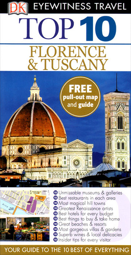 Florence & Tuscany: Top 10 (+ карта)