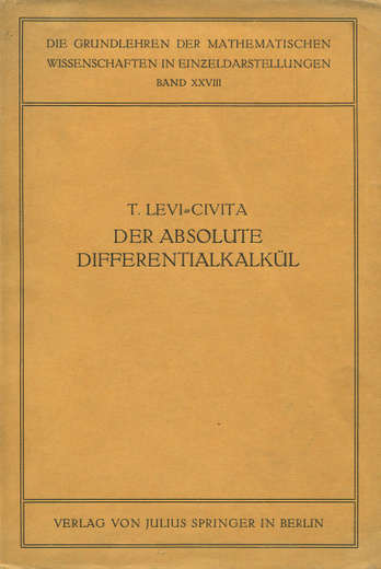 Der absolute Differentialkalkul
