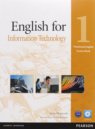English for Information Technology: Level 1: Coursebook (+ CD-ROM)