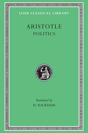 Politics L264 V21 (Trans. Rackham)(Greek)