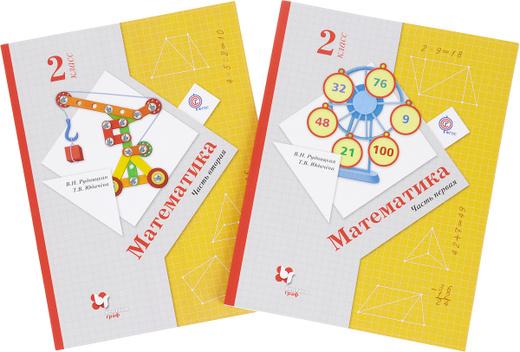 Математика. 2 класс. Учебник. В 2 частях (комплект)