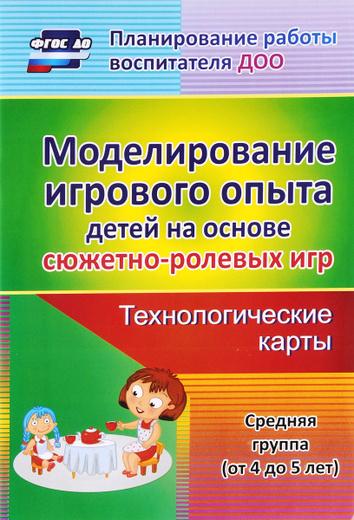 Моделирование игрового опыта детей 4-5 лет на основе сюжетно-ролевых игр. технологические игры