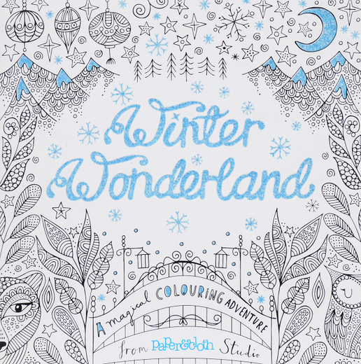 Winter Wonderland: A Magical Colouring Adventure