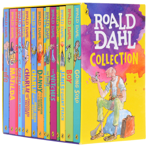 Roald Dahl Collection - 15 Paperback Book Boxed