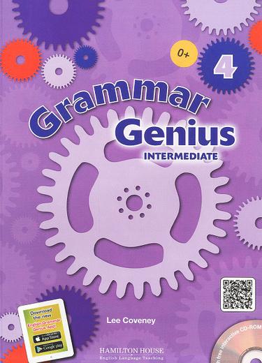 Grammar Genius 4: Intermediate - CEF: B1 (+ CD-ROM)