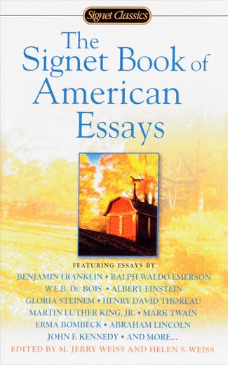 Signet Book of American Essays
