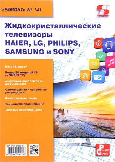 Жидкокристаллические телевизоры HAIER, LG, PHILIPS, SAMSUNG и SONY. Выпуск 141