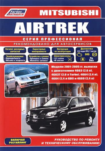 Mitsubishi Airtrek. Модели 2001-2005 гг. выпуска. Устройство, техническое обслуживание и ремонт