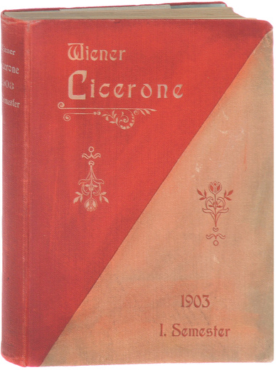 Wiener Cicerone. Illustrierter Fremden-Fuehrer durch Wien und Umgebung