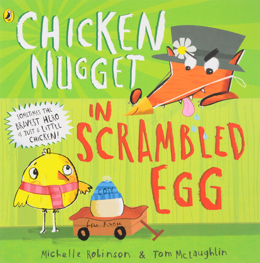 Chicken Nugget: In Scrambled Egg