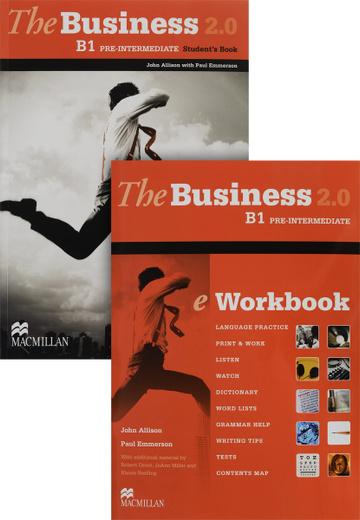 The Business 2.0 B1: Pre-Intermediate: Student's Book: eWorkbook (комплект из 2 книг + DVD-ROM)