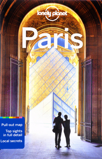 Paris: Lonely Planet Guide (+ Map)