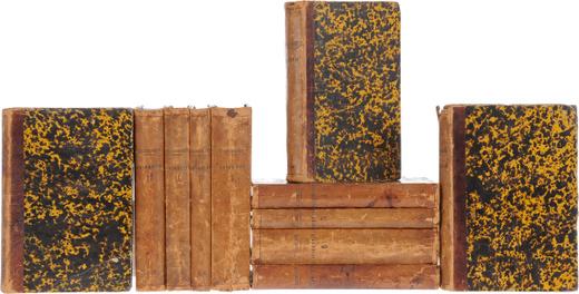 Сочинения В. Белинского в 12 томах. Тома 1 - 8, 10 - 12 (комплект из 11 книг)