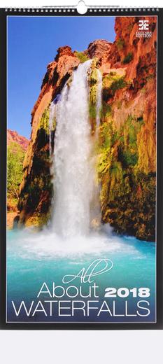 Календарь 2018. All about Waterfalls