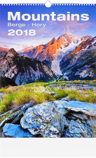 Календарь 2018 (на спирали). Mountains