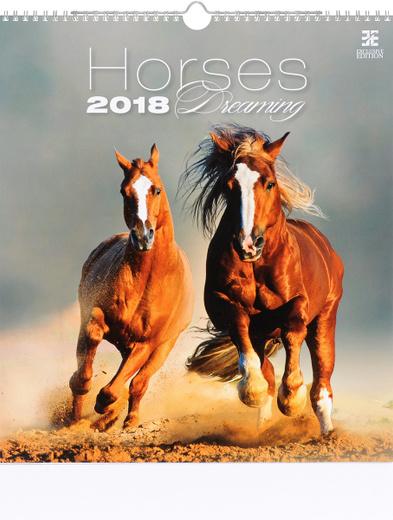 Календарь 2018 (на спирали). Horses Dreaming: Daniela Benesova