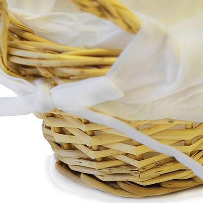 Корзинка для хлеба овальная, 28 х 15 см