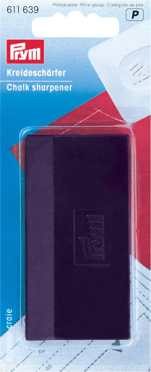 Точилка для мела Prym с контейнером для мусора изготовлена из пластика. С такой точилкой Ваш мел будет всегда тонким и острым! Характеристики:Материал: пластик. Цвет:  фиолетовый. Размер:  7,5 см х 4 см х 1,5 см. Размер упаковки:  13,5 см х 5,5 см х 2,5 см. Артикул:  611639.