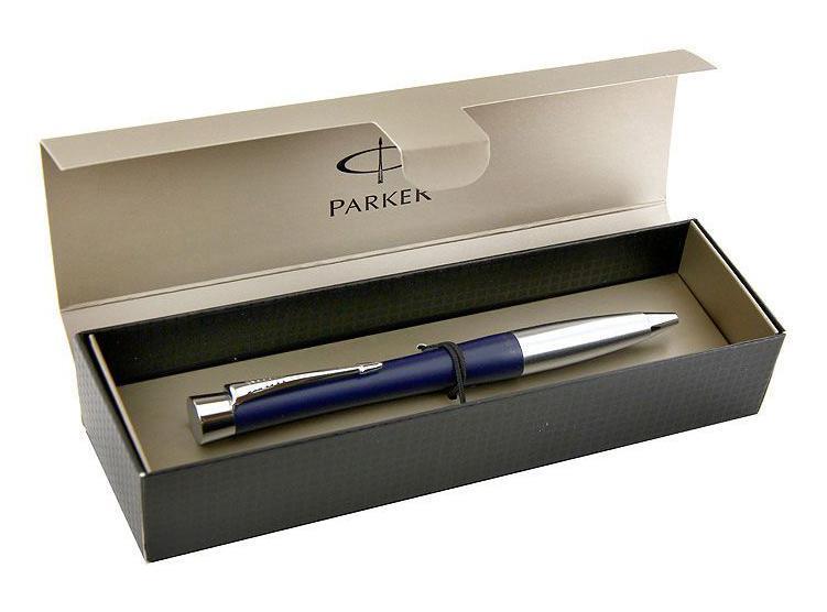 Характеристики:Общая длина ручки: 13,5 см. Линия письма: средняя. Цвет чернил: синий. Цвет корпуса ручки: серебристый, синий. Материал корпуса: латунь. Размер упаковки: 17,5 см x 5,5 см x 3,7 см. Изготовитель: Китай.