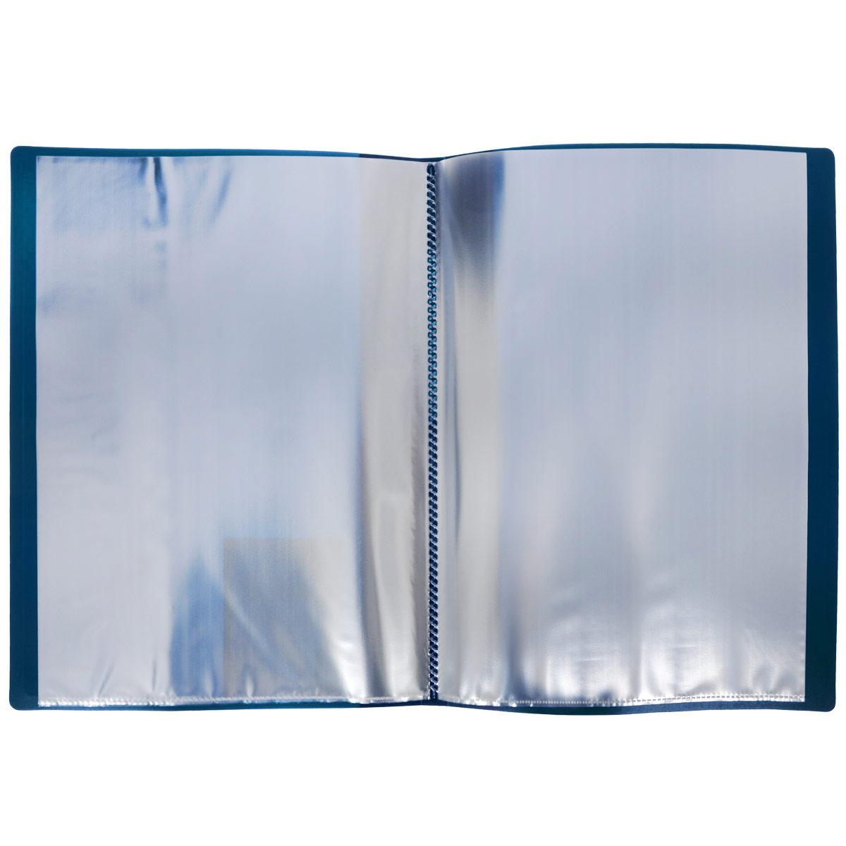 ProffПапка с файлами Next 20 листов цвет синий Proff