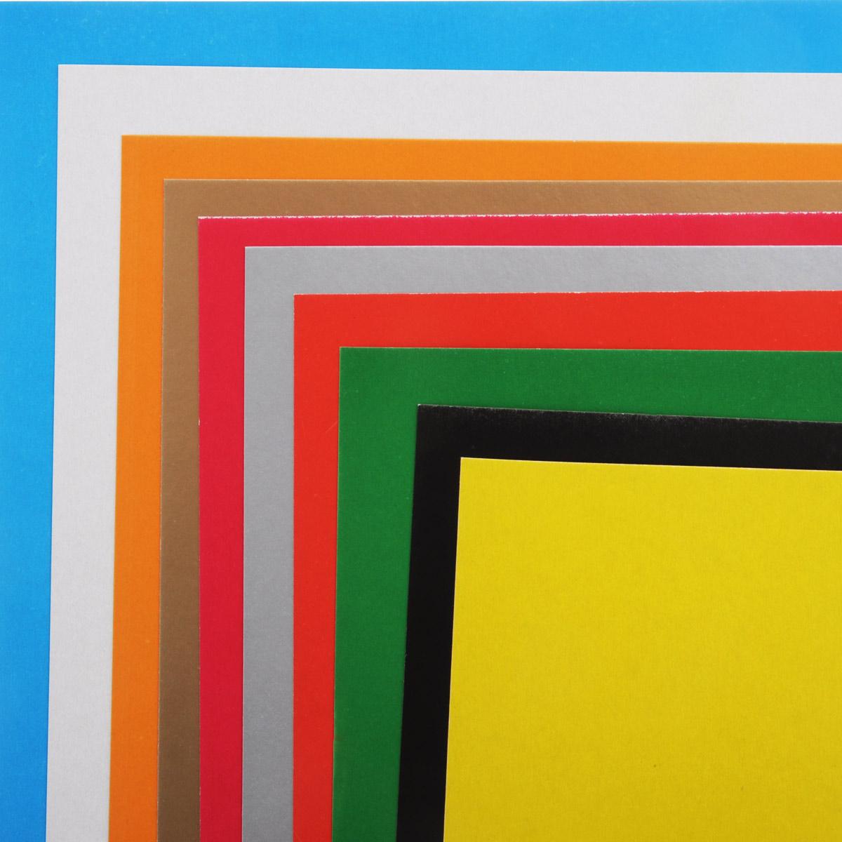 Набор цветного картона Proff Fizzy Moon - это качественный, замечательный набор для детского творчества, который состоит из 10 листов картона разных цветов. Набор позволит создавать всевозможные аппликации и поделки.  Создание поделок из цветного картона позволяет ребенку развивать творческие способности, кроме того, это увлекательный досуг.