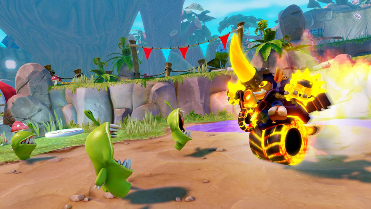 Skylanders Trap Team. Интерактивная фигурка Hog Wild Fryno Toys For Bob