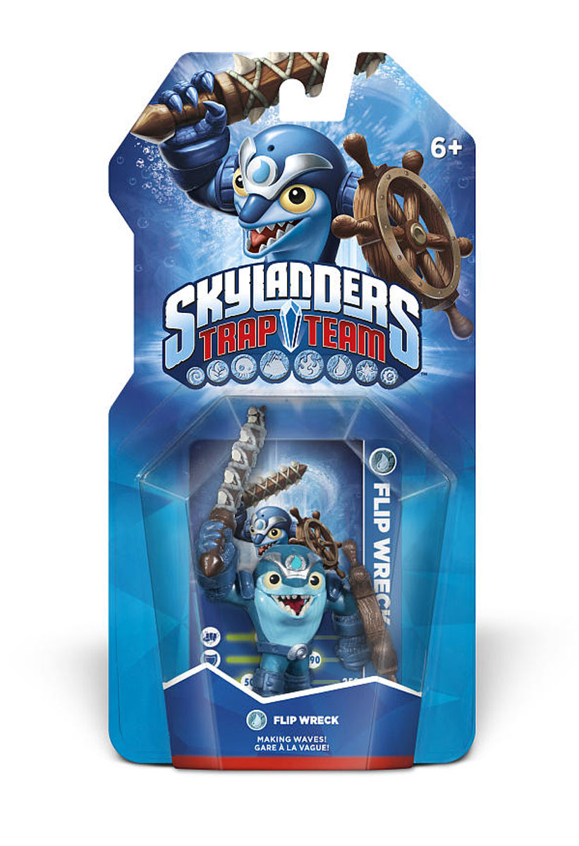 Skylanders Trap Team. Интерактивная фигурка Flp Wreck Toys For Bob