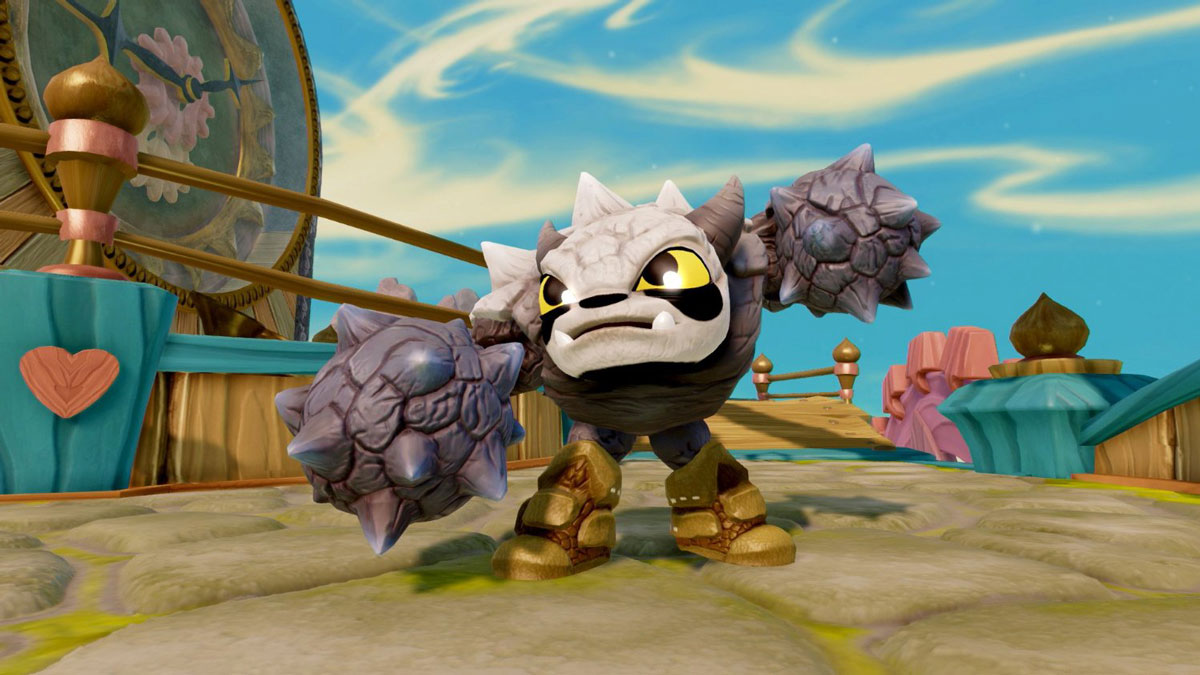 Skylanders Trap Team. Интерактивная фигурка Fist Bump Toys For Bob